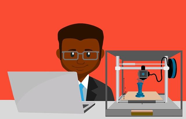 člověk, 3D tiskárna